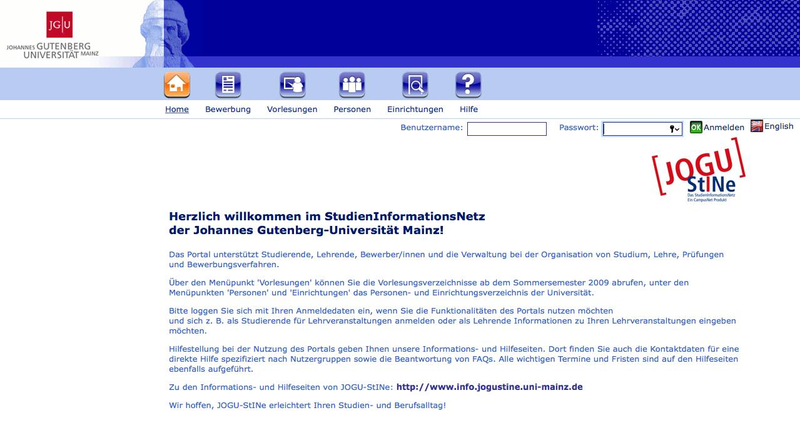 versptete immatrikulation fr rund 500 studierende - Uni Mainz Bewerbung
