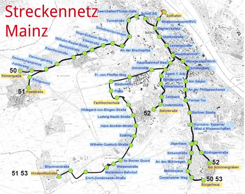 Campus Mainz Vernderung durch die Mainzelbahn