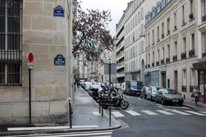 Die Rue Scipion in Paris.