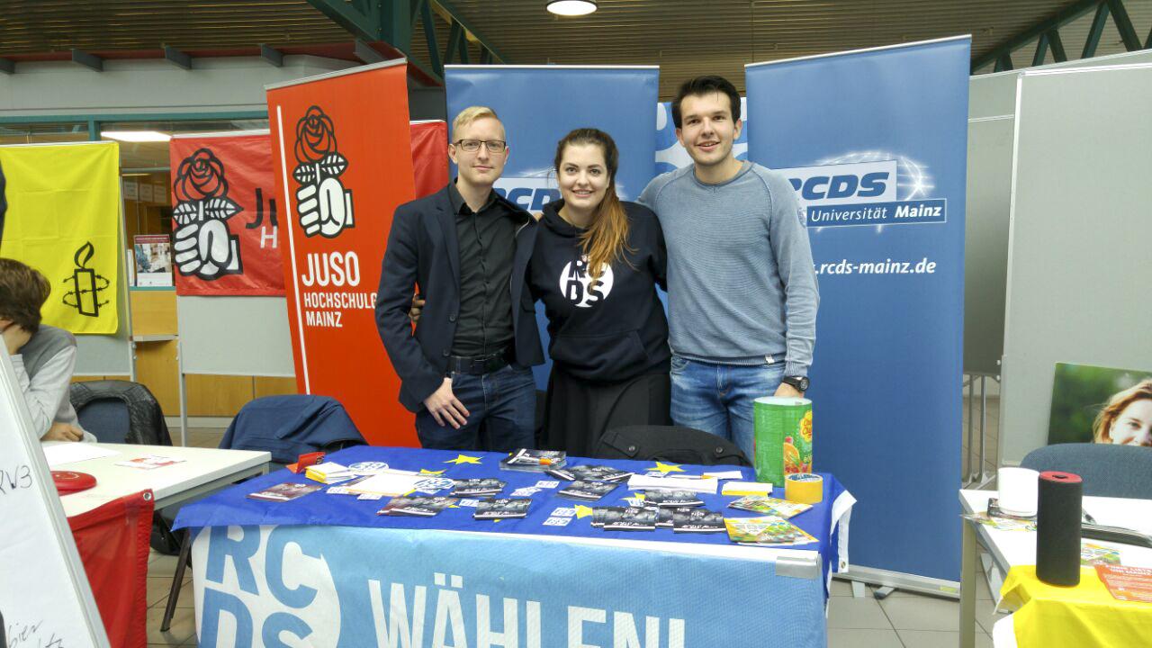 Mitglieder des RCDS Mainzs